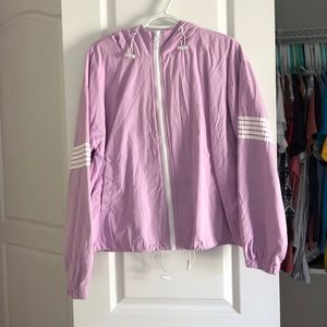 Purple Rainjacket